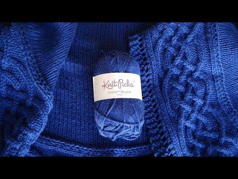 Knit Picks Comfy Yarn Review