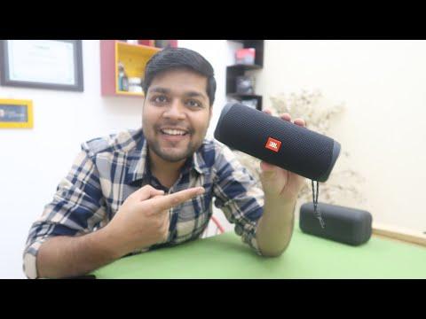 JBL FLIP 5 Bluetooth Speaker Unboxing & Review - Hindi