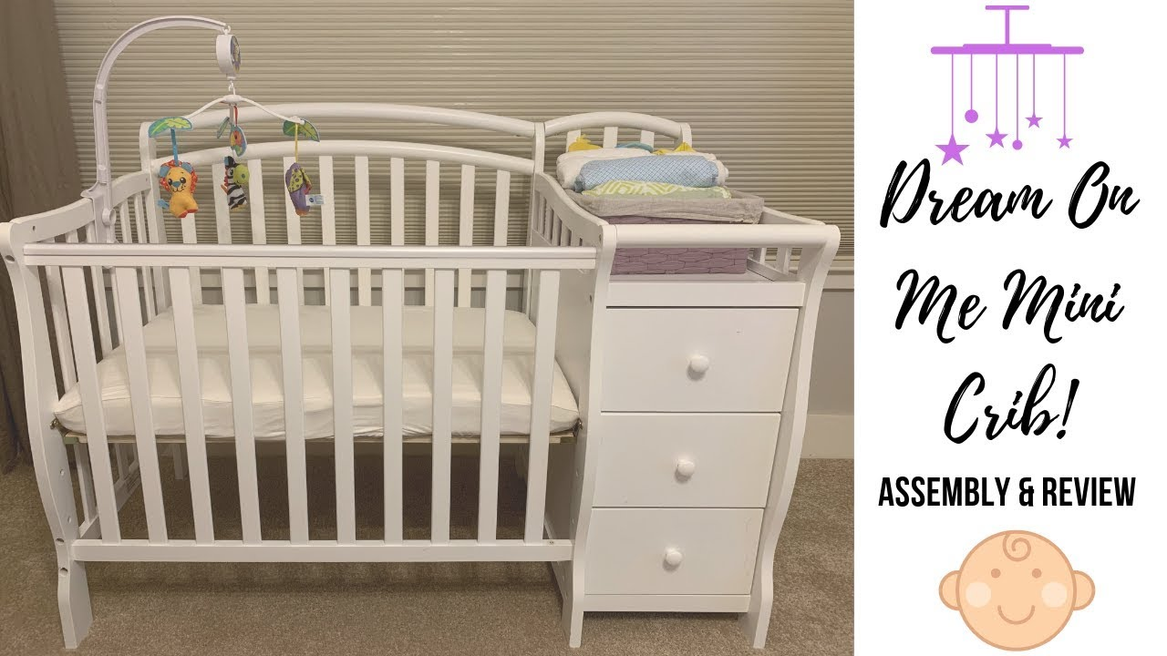 Dream On Me Mini Crib Assembly And Review Youtube