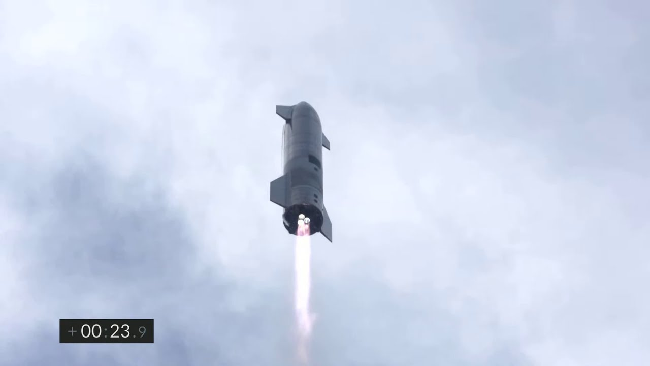Starship | SN10 | High-Altitude Flight Test