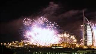 Burj Ul Arab Dubai Fireworks 2nd December 2016 (National Day UAE)