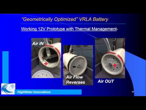 The GO Battery for Hybrid Electric Vehicles