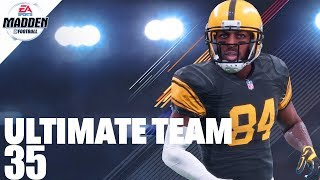 Madden 18 Ultimate Team - Team of The Year Antonio Brown Ep.35