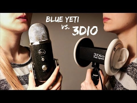 ASMR Tingle Battle: 3Dio vs. Blue Yeti Microphone