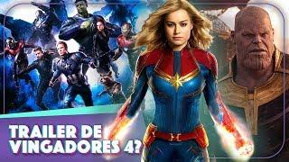 VAZOU O TRAILER DE VINGADORES 4?! 💥 Descrição COMPLETA e título de Avengers 4 revelado!!   Vic View