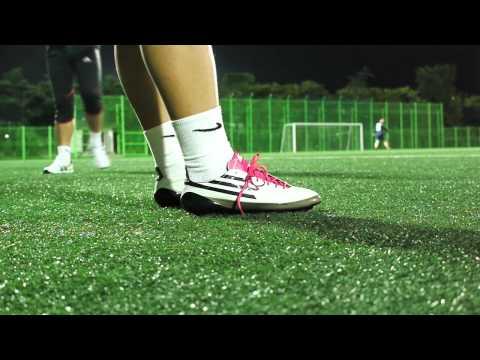 ADIDAS F50 ADIZERO TRX HG Wht/Blk/Pink Review II