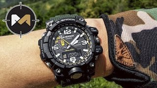 Часы для экстрима CASIO G-SHOCK GWG-1000 Mudmaster(Часы CASIO G-SHOCK: http://www.g-shock.eu/ru/ Facebook: https://www.facebook.com/MartyAirsoft/ Instagram: https://instagram.com/marty_world_2015/ ..., 2016-07-12T17:07:05.000Z)