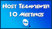 TeamViewer 11 - Remotely Install Host Module - YouTube