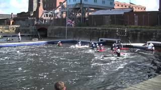 Canoe Polo Trentham Vs Manchester Wildcatz A 1st half National League Div 3