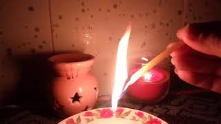 Чистка свечой и солью.