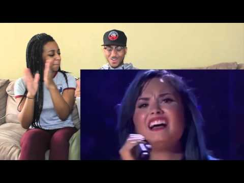 Couple Reacts : Demi Lovato SLAYS!!!
