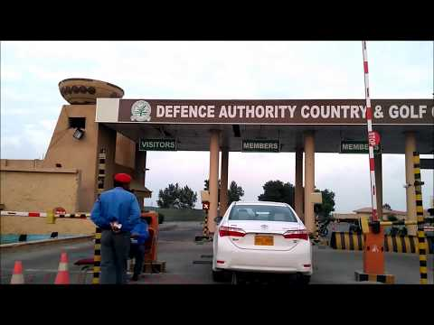 DHA Karachi - DA Country & Golf Club Karachi Evening Drive - DHA Karachi Pakistan
