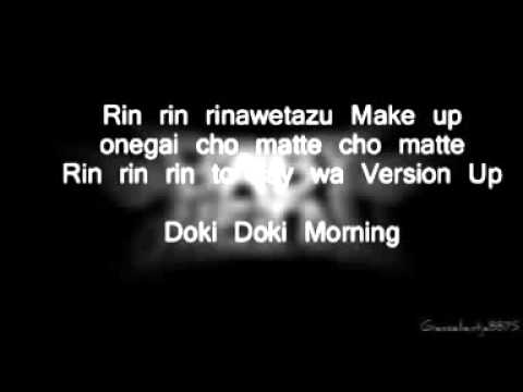 BabyMetal - Doki Doki Morning ( Lyrics Romaji )