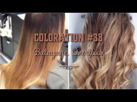 Coloration #38 Балаяж с тонированием в технике Overflow. Balayage