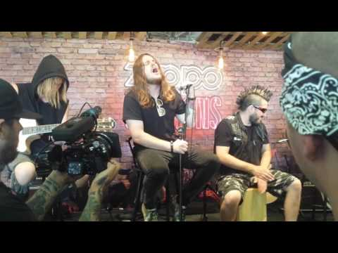 Of Mice & Men acoustic zippo session Northern Invasion May 13 2017 Somerset WI of Mice and Men
