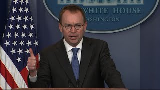 WH: Democrats to Blame for for Looming Shutdown