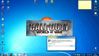 """How to install """"Call of Duty: World at War"""" + CD key"""