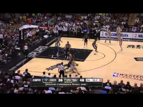NBA Memphis Grizzlies Vs San Antonio Spurs - Game 1 | 19th May 2013 | Western Conference Finals 2013