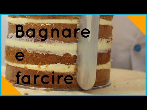 Pasta di zucchero: Come bagnare e farcire una torta da rivestire ...