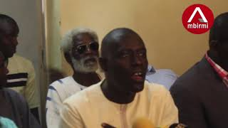 THIES: NDIAGA DIAW DU PDS  INSULTE MASSALY ET ACCUSE Me MADICKE NIANG DE T...