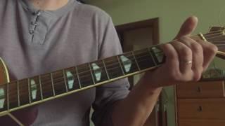 Под небом голубым, Аквариум (Табы, ноты). Первые уроки и шаги на гитаре.