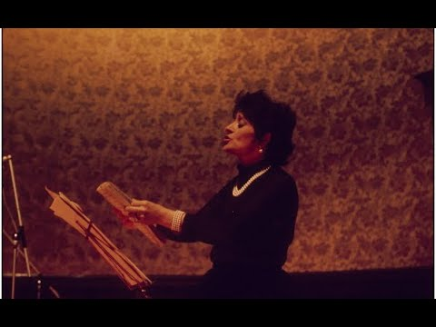 Clip 3.Victoria de los Angeles.AT HOME IN BARCELONA.Talks about Life and Recitals.An die Musik etc.