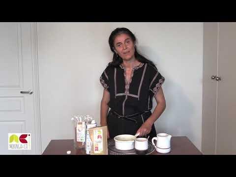 Moringa latté: une boisson idéale pour commencer la journée