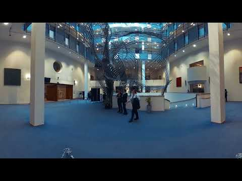Virtual tour of the European Parliament in Brussels _2017