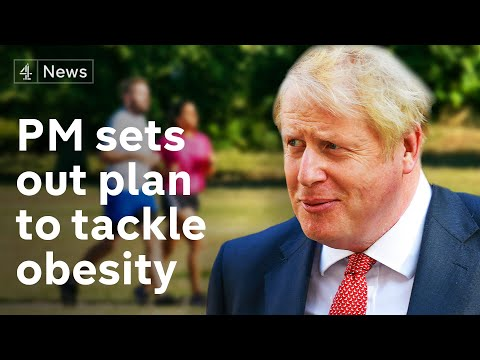 Johnson to announce new anti-obesity measures amid fears of coronavirus second wave