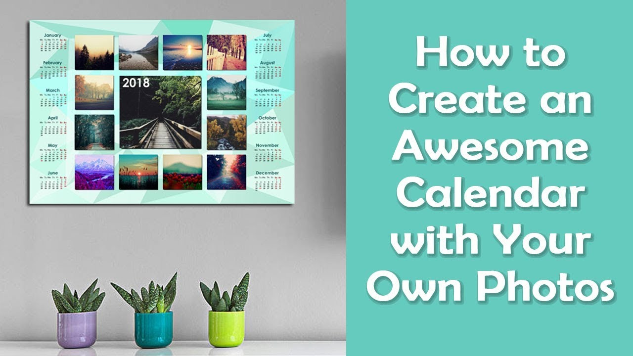 how to create your own calendar app