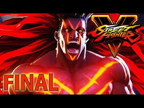 Street Fighter V : A Shadow Falls - Modo História - FINAL ÉPICO [ PS4 - Playthrough ]