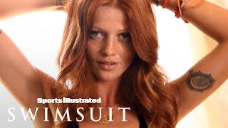 Cintia Dicker Strips Down & Shows Off Her Tattoos In Bed | Intimates | Sports Illustrated Swimsuit
