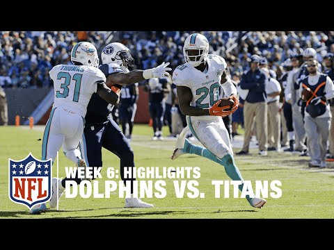 Dolphins Vs. Titans | Week 6 Highlights | NFL