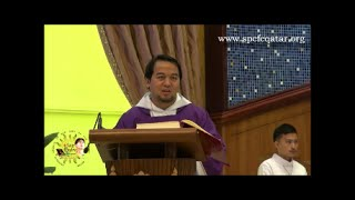 FIRST DAY OF ADVENT MASS WITH FR. RALLY GONZAGA - 27 NOV. 2015