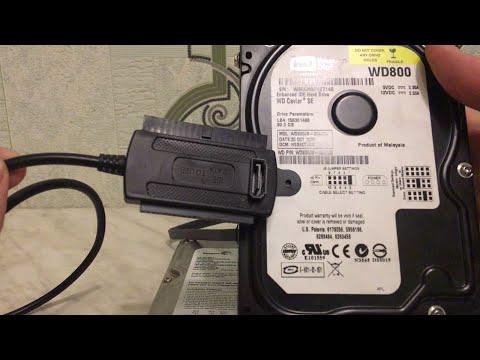 Как подключить жесткий диск через Usb. Восстановление данных с жестких дисков..