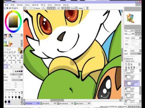 Pokemon edit- Y and X starter pokemon