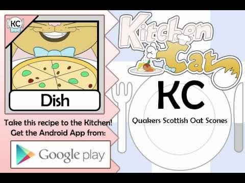 Quakers Scottish Oat Scones - Kitchen Cat