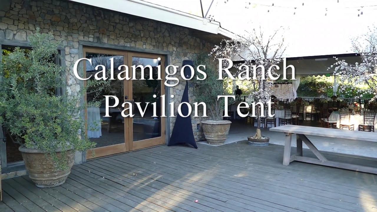 Calamigos Pavilion Tent 2016 & Calamigos Pavilion Tent 2016 - YouTube
