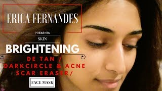 SKIN MASK FOR GLOWING SKIN | FACE MASK | ERICA FERNANDES