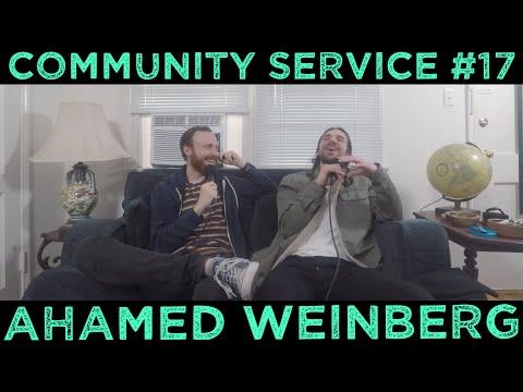 Community Service #17 - Ahamed Weinberg