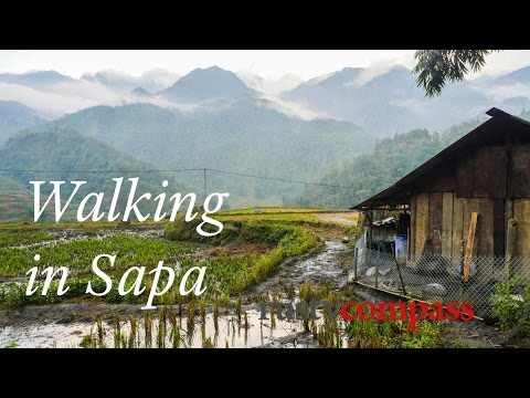 Sapa travel guide - walking and trekking in nearby villages