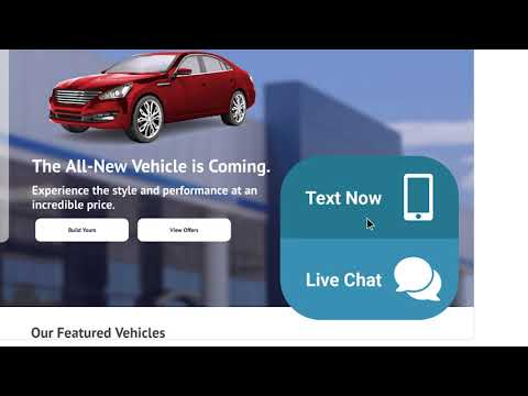 Car Dealership Online Web Chat Software | ActivEngage