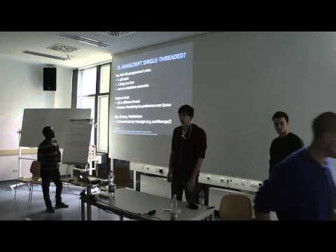 JavaScript Seminar - The event handling system and Project D, Group 4