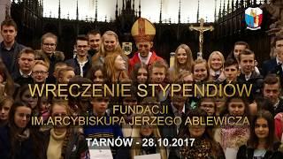 WRĘCZENIE STYPENDIÓW ABPA J. ABLEWICZA - TARNÓW 2017