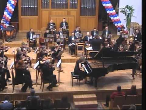 Beethoven - Concerto No.4 G-major op. 58. Sofya Bugayan - piano, Barak Tal - conductor.