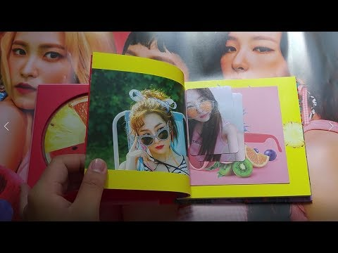 Thumbnail: RED VELVET 5th MINI ALBUM《THE RED SUMMER》UNBOXING