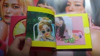 RED VELVET 5th MINI ALBUM《THE RED SUMMER》UNBOXING