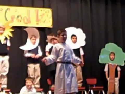 Saint Margaret School Presents: The 1st Grade Thanksgiving Play Featuring  Owen Veith as  God