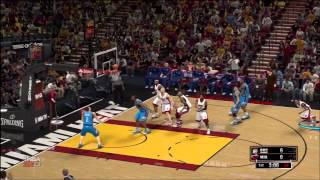 NBA 2K13 - Demo Gameplay (Nintendo Wii U Edition)
