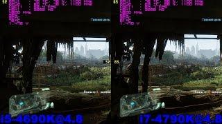 i5 4690k 4 8 vs i7 4790k 4 8 cf 280x in 6 topical сf games